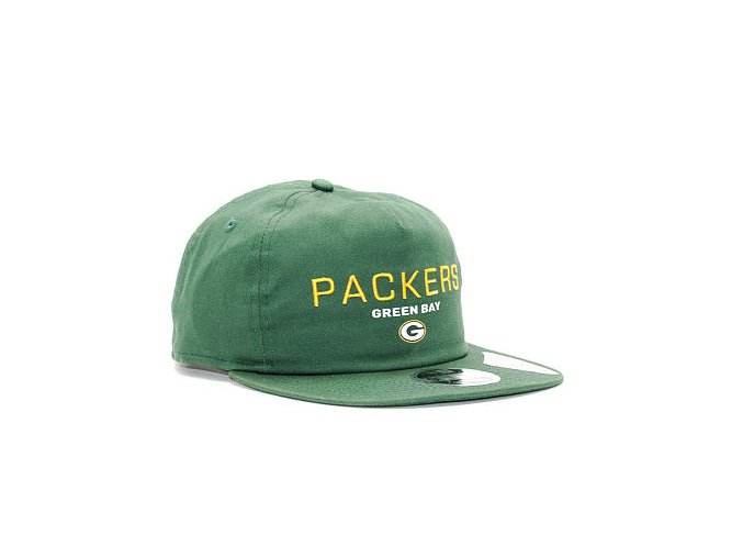 Kšiltovka New Era Statement Original Fit Greenbay Packers 9FIFTY Official Team Color Snapback