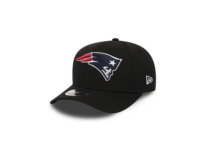 Kšiltovka New Era 9FIFTY New England Patriots Stretch Snapback Black/Official Team Colors