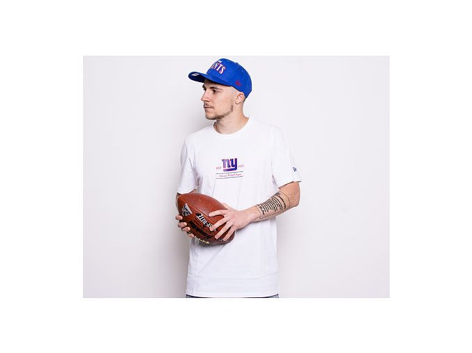 Triko New Era New York Giants Team Established White