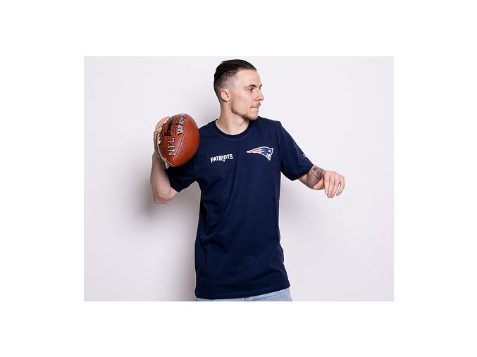 Triko New Era New England Patriots Established Number Blue