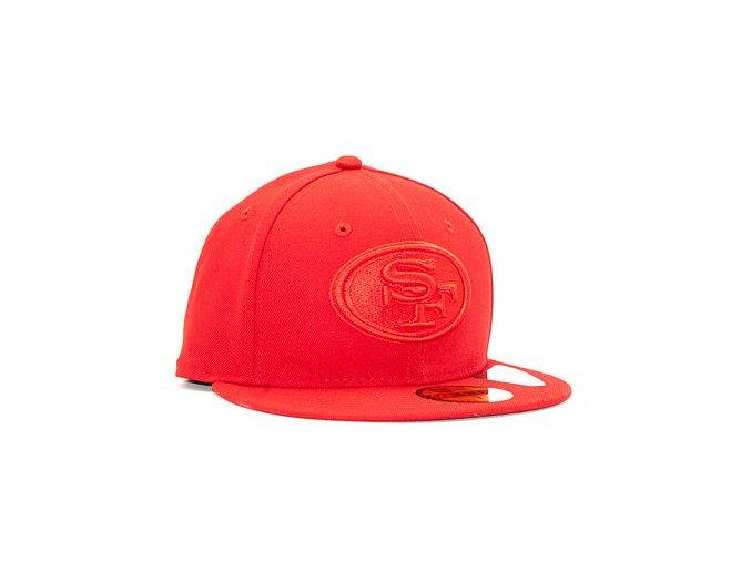 Kšiltovka New Era 59FIFTY San Francisco 49ers Tonal Red