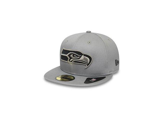 Kšiltovka New Era 59FIFTY Seattle Seahawks Team Tonal Gray/Storm Grey