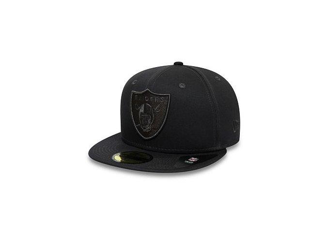 Kšiltovka New Era 59FIFTY Oakland Raiders Team Tonal Grey Heather