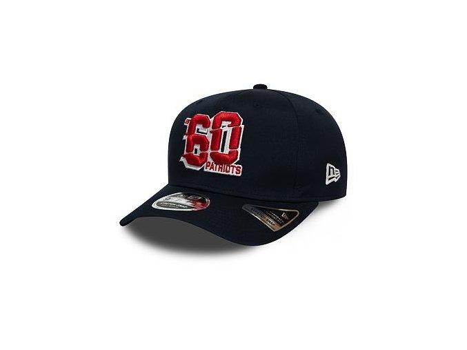 Kšiltovka New Era 9FIFTY New England Patriots Stretch Snap Numbers OTC
