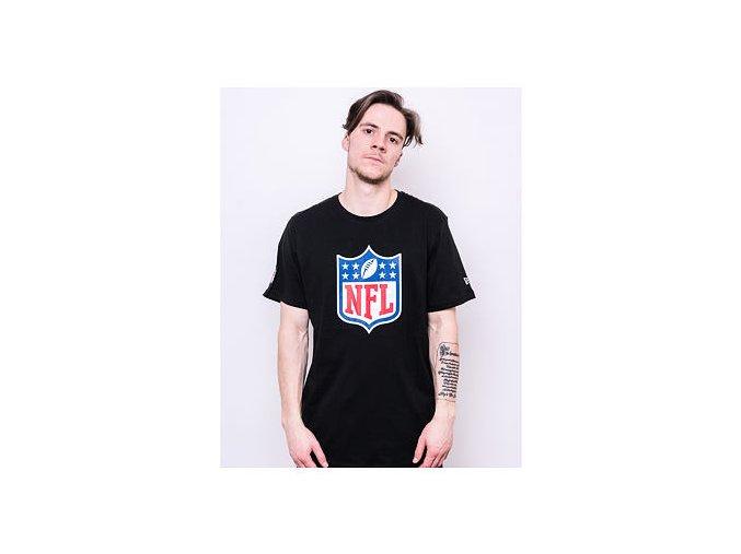 Triko New Era NFL Logo Tee Black