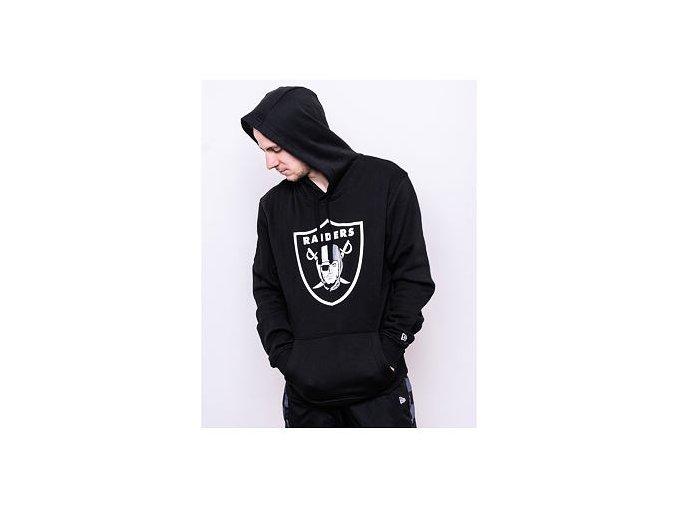 Mikina New Era Oakland Raiders Team Logo Hoodie Black