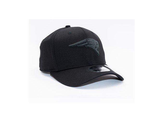 Kšiltovka New Era 9FIFTY New England Patriots Stretch Snap Tonal Black