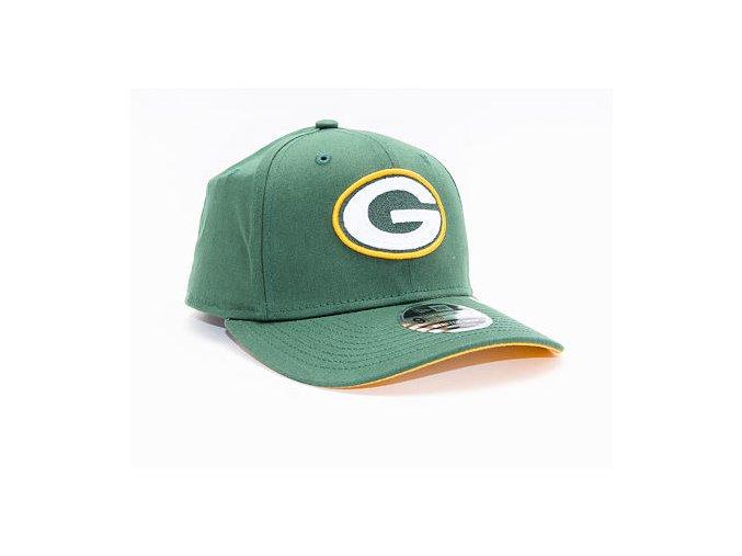 Kšiltovka New Era 9FIFTY Green Bay Packers Stretch Snap OTC