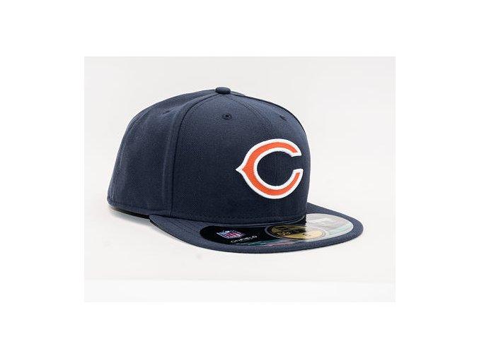 Kšiltovka New Era 59FIFTY Chicago Bears On Field