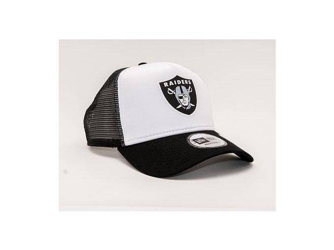 Kšiltovka New Era 9FORTY A-Frame Trucker NFL Team Color Block Oakland Raiders Snapback Team Color