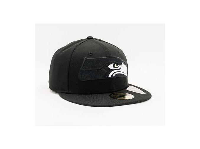 Kšiltovka New Era 59FIFTY NFL Elements 2.0 Seattle Seahawks Black