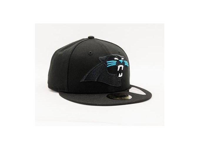 Kšiltovka New Era 59FIFTY NFL Elements 2.0 Carolina Panthers Black