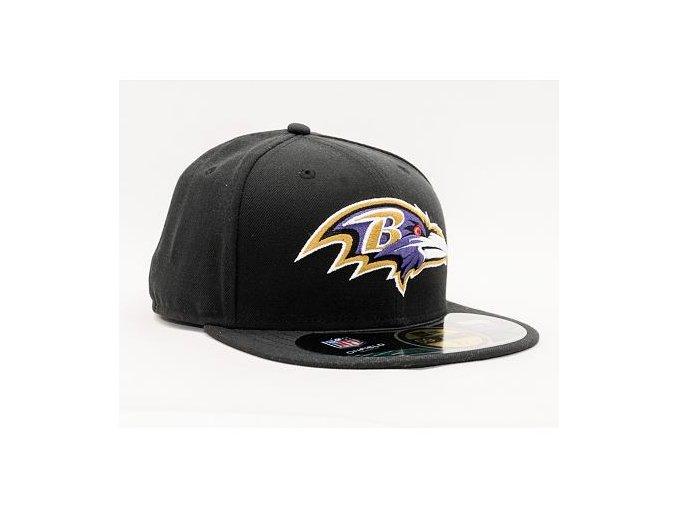 Kšiltovka New Era 59FIFTY NFL On Field Baltimore Ravens