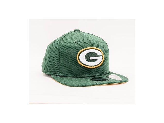 Dětská Kšiltovka New Era 9FIFTY Kids NFL Training Mesh Snap Green Bay Packers