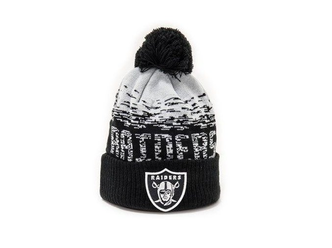 Kulich New Era NFL Sport Knit Cuff Oakland Raiders  Team Color