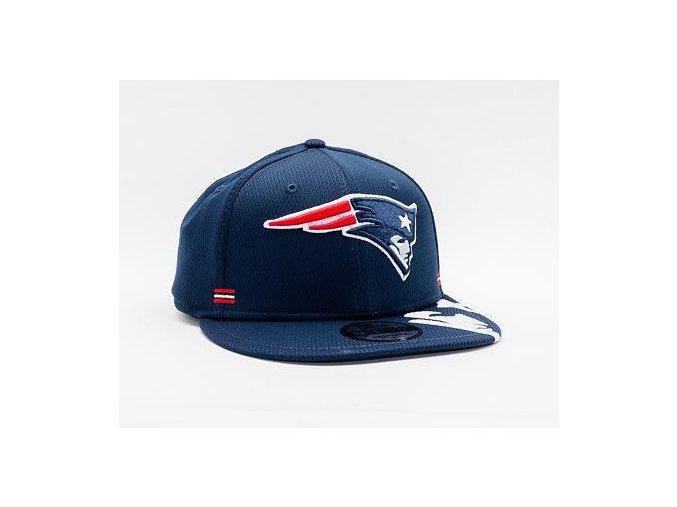 Kšiltovka New Era 9FIFTY NFL20 Sideline Home New England Patriots Snapback Team Color
