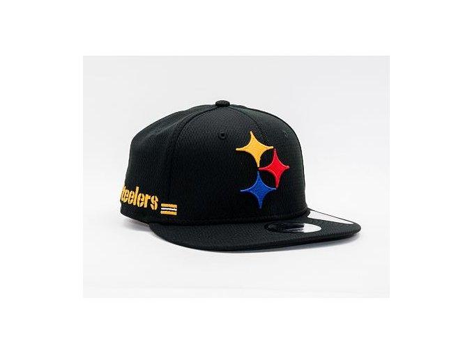 Kšiltovka New Era 9FIFTY NFL20 Sideline Home Pittsburgh Steelers Snapback Team Color