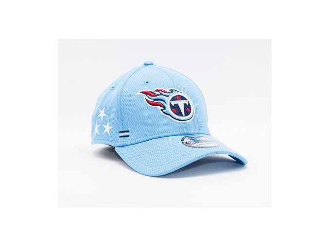 Kšiltovka New Era 39THIRTY NFL20 Sideline Home Tennessee Titans Stretch Fit Team Color