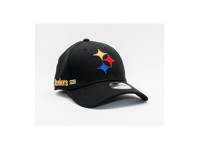 Kšiltovka New Era 39THIRTY NFL20 Sideline Home Pittsburgh Steelers Stretch Fit Team Color