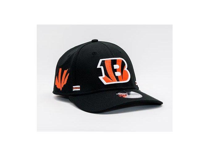 Kšiltovka New Era 39THIRTY NFL20 Sideline Home Cincinnati Bengals Stretch Fit Team Color