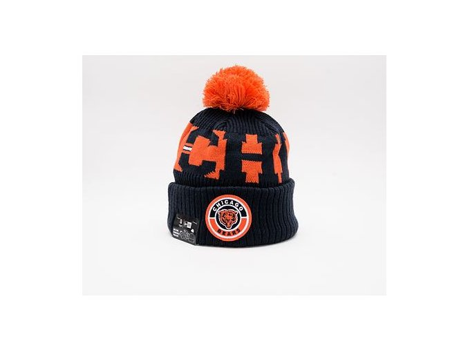 Kulich New Era NFL 20 On Field Sport Knit Chicago Bears Team Color