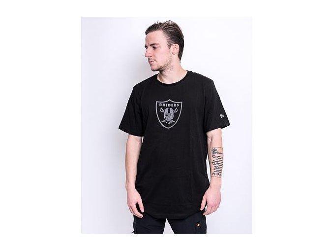 Triko New Era NFL Reflective Print Tee Las Vegas Raiders Black