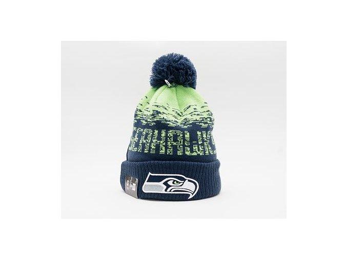 Kulich New Era NFL Sport Knit Cuff Seattle Seahawks  Team Color