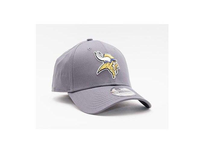 Kšiltovka New Era 39THIRTY NFL Team Minnesota Vikings Stretch Fit Heather Graphite