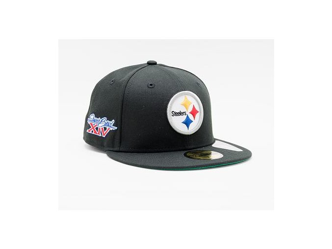 Kšiltovka New Era 59FIFTY NFL Retro Sports 59fifty Pittsburgh Steelers Fitted Team Color