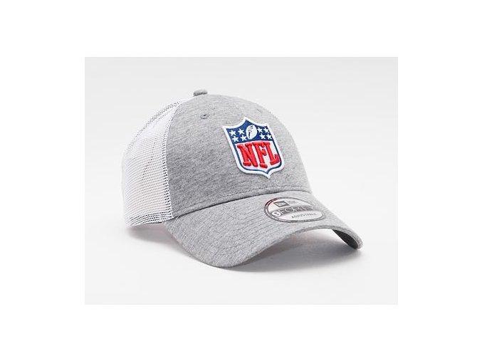 Kšiltovka New Era 9FORTY Trucker NFL Home Field NFL Logo Gray