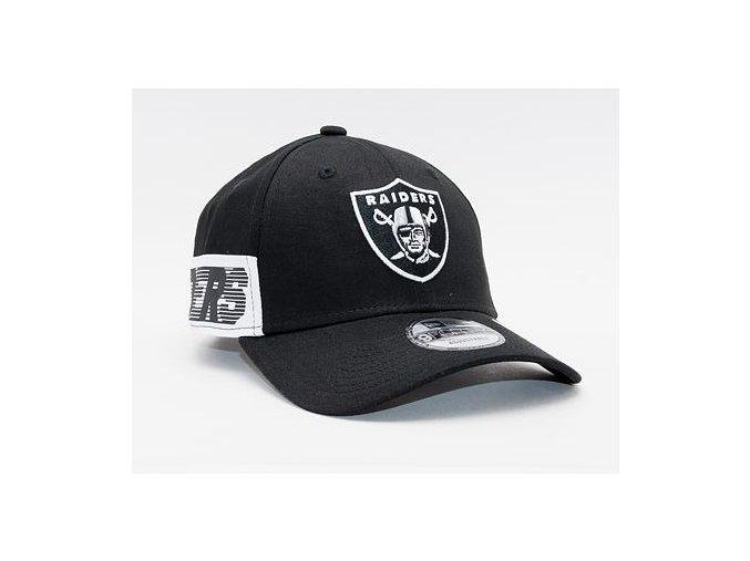 Kšiltovka New Era 9FORTY NFL Side Mark Las Vegas Raiders Black
