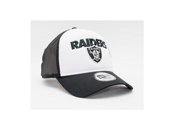 Kšiltovka New Era 9FORTY NFL Team arch Trucker Las Vegas Raiders Strapback Black