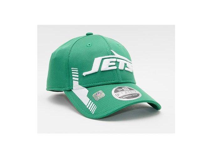Kšiltovka New Era 9FORTY Stretch-Snap NFL21 Sideline Home Color New York Jets