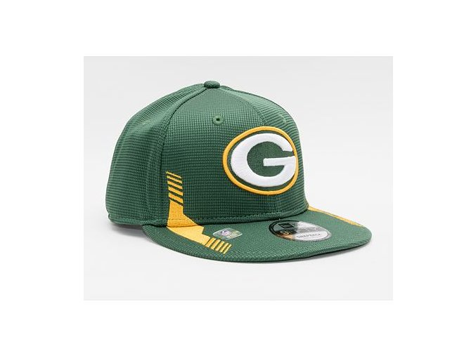 Kšiltovka New Era 9FIFTY NFL21 Sideline Home Color Green Bay Packers