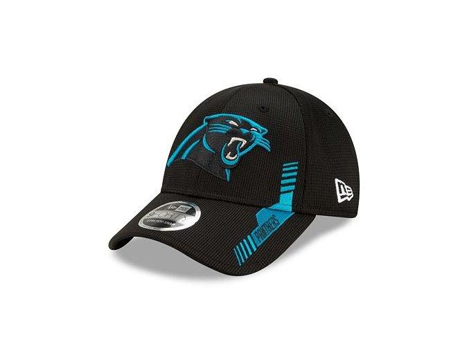 Kšiltovka New Era 9FORTY Stretch-Snap NFL21 Sideline Home Color Carolina Panthers