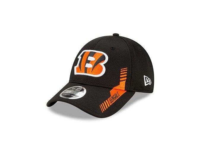 Kšiltovka New Era 9FORTY Stretch-Snap NFL21 Sideline Home Color Cincinnati Bengals