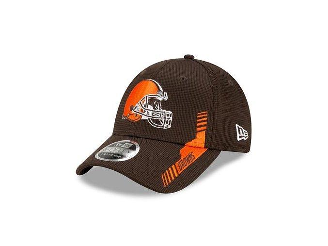 Kšiltovka New Era 9FORTY Stretch-Snap NFL21 Sideline Home Color Cleveland Browns