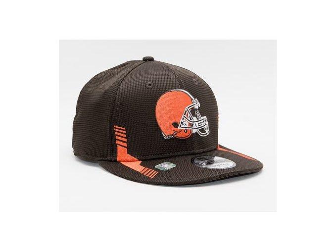 Kšiltovka New Era 9FIFTY NFL21 Sideline Home Color Cleveland Browns