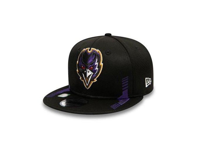 Kšiltovka New Era 9FIFTY NFL21 Sideline Home Color Baltimore Ravens