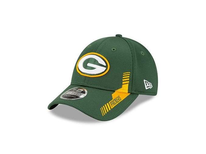 Kšiltovka New Era 9FORTY Stretch-Snap NFL21 Sideline Home Color Green Bay Packers