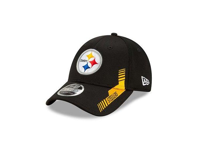 Kšiltovka New Era 9FORTY Stretch-Snap NFL21 Sideline Home Color Pittsburgh STeelers