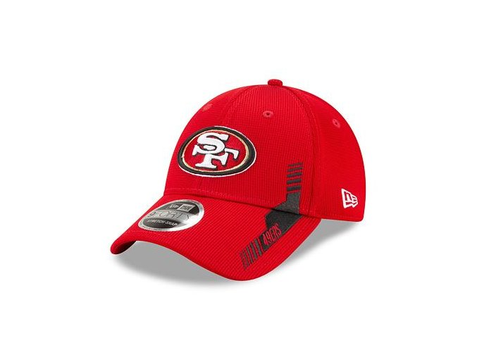 Kšiltovka New Era 9FORTY Stretch-Snap NFL21 Sideline Home Color San Francisco 49ers