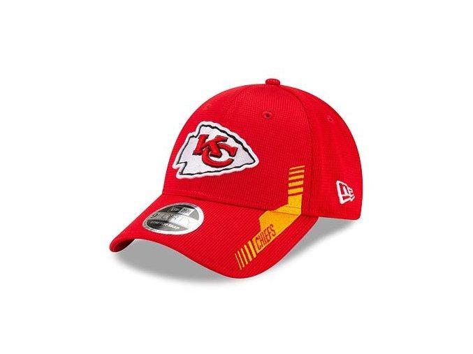 Kšiltovka New Era 9FORTY Stretch-Snap NFL21 Sideline Home Color Kansas City Chiefs