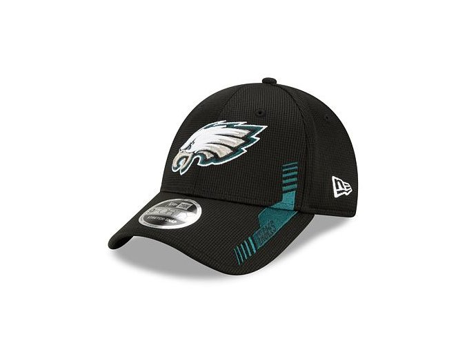 Kšiltovka New Era 9FORTY Stretch-Snap NFL21 Sideline Home Color Philadelphia Eagles
