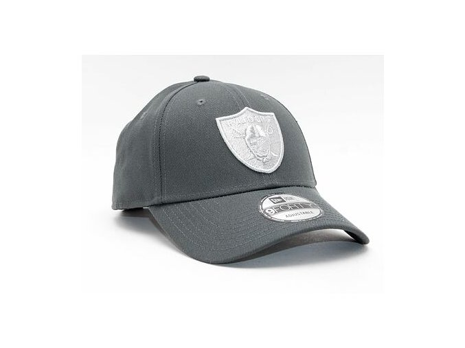 Kšiltovka New Era 9FORTY NFL Pop Logo Las Vegas Raiders Strapback Graphite
