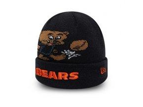 Dětský Kulich New Era Chicago Bears Infant Mascot Cuff Knit Night Shift Navy