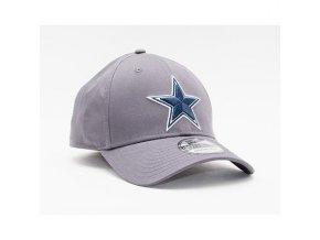 Kšiltovka New Era 39THIRTY NFL Team Dallas Cowboys Stretch Fit Heather Graphite