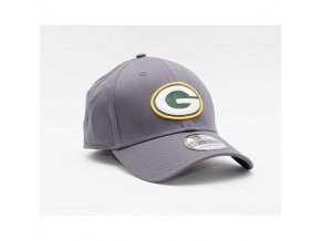 Kšiltovka New Era 39THIRTY NFL Team Green Bay Packers Stretch Fit Heather Graphite
