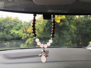 Ochranný talisman do auta anděl