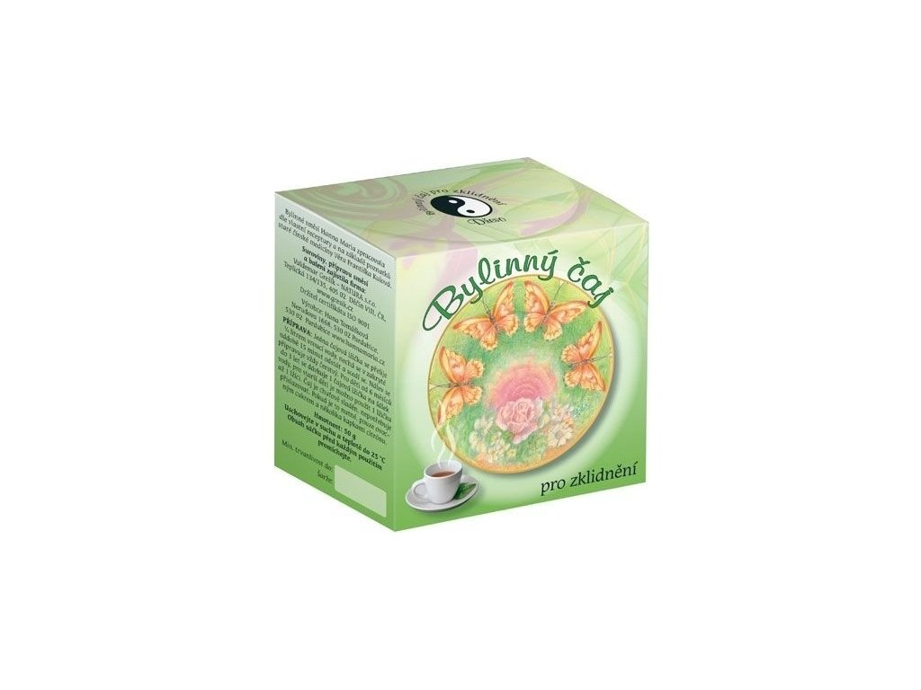 6012 hanna maria Bylinkový čaj drevo pre upokojenie 50 g
